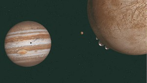 Geysire auf Jupitermond Europa