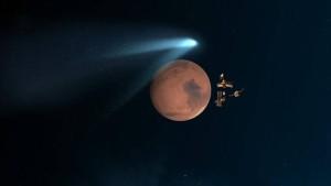 Haarscharf  am Mars vorbei
