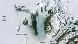 Scharfes Mosaik der Antarktis