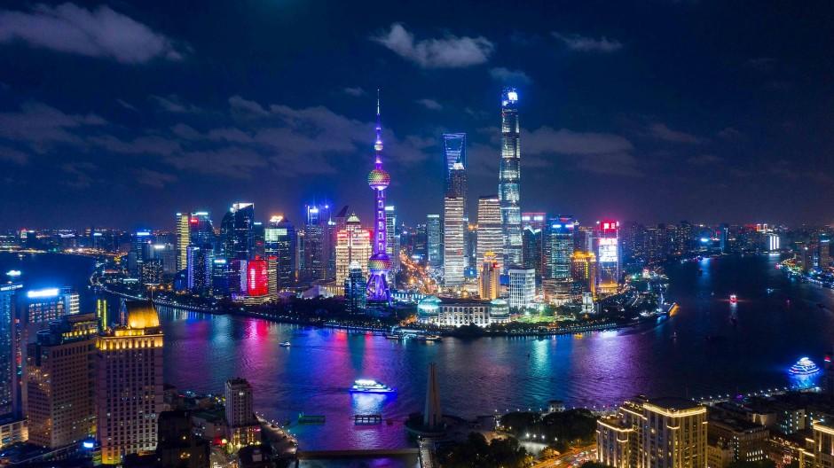 Schanghais Stadtbezirk Pudong, als großes Finanzzentrum bekannt, war Schauplatz für ein spektakuläres Quantenexperiment.