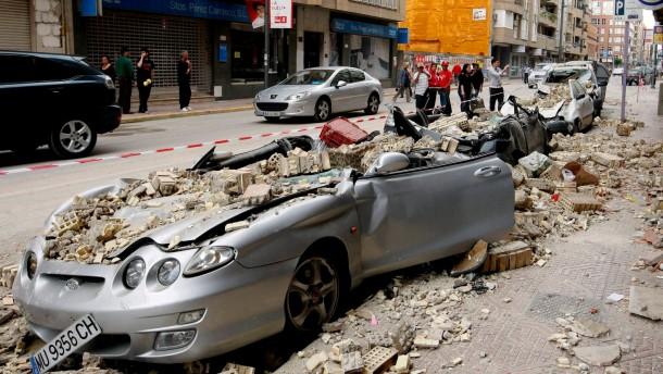 Erdbeben in Spanien 2011