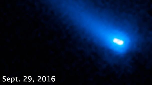 Die machen einen auf Komet
