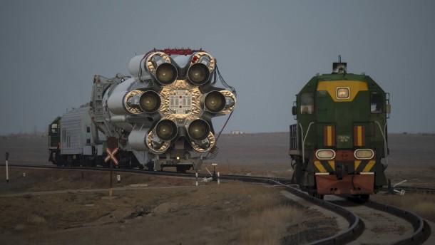 Vorbereitungen für den europäischen Raketenstart zum Mars