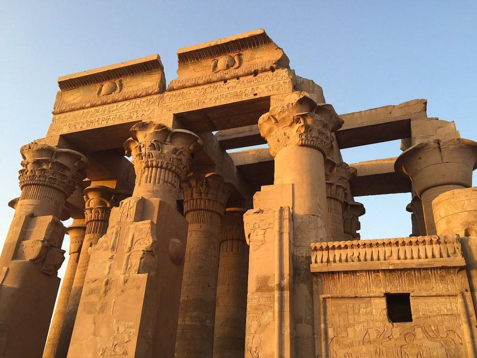 Der Tempel Kom Ombo unweit von Assuan war dem Nilgott Sobek geweiht.