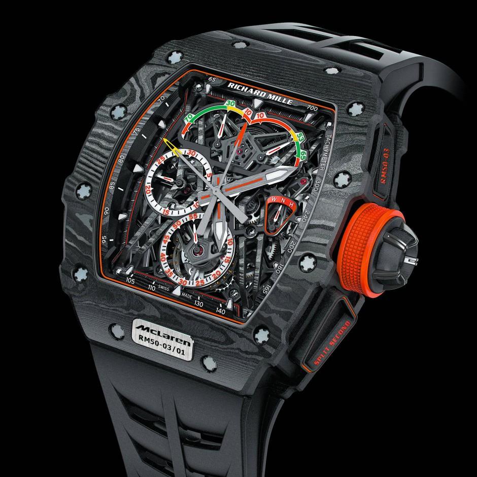 Ungeheuer leicht und sehr teuer: die Graphen-Armbanduhr