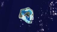 Einsam im großen Meer: Das Atoll Maupiti von Bora Bora im Südpazifik
