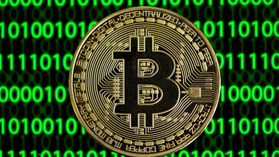 Die Cyber-Devide Bitcoin hat sich aktuell wieder verbilligt - auf knapp 55.000 Dollar.