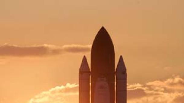 Am 13. Juli fliegt ein Spaceshuttle ins All