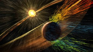 Die Sonne  entriss dem Mars einst die Lufthülle