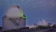 Quelle des verdrehten Lichtstrahls: Jacobus Kapteyn Teleskop auf La Palma