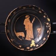 Aus solchen griechischen Trinkschalen becherten die frühen Kelten in Burgund Bier und Wein.
