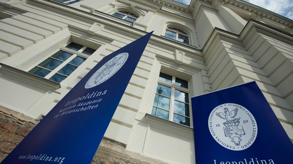 Nationalakademie Leopoldina in Halle in Sachsen-Anhalt.