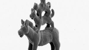 Bildhauern mit dem Laserstrahl