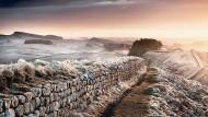 Touristenmagnet bis heute: der Hadrianswall