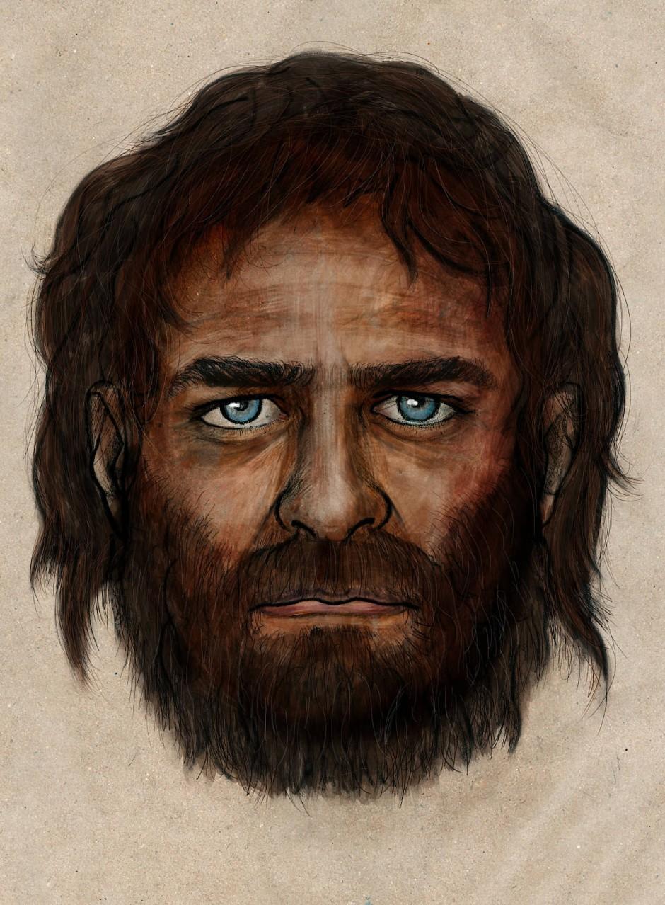 Aus La Brana: Rekonstruktion eines vor 7000 Jahre in Spanien lebenden Mannes.