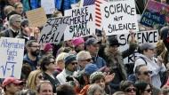 Ein Anfang: Pro-Wissenschafts-Demo Anfang des Jahres in Boston.