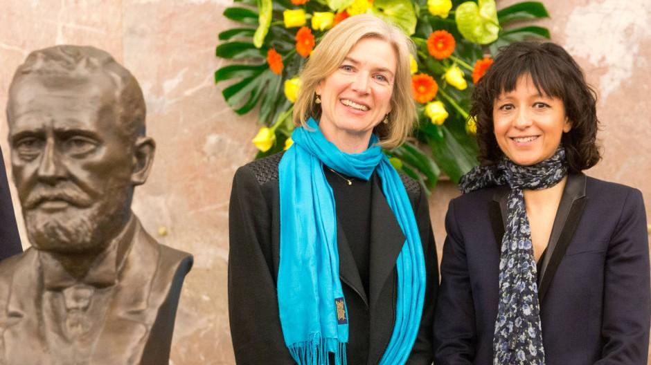 Gentechnik-Pionierinnen und Nobelpreis-Kandidatinnen: Jennifer Doudna (links) und Emmanuelle Charpentier.