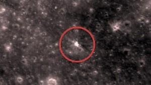 Ein frischer Krater