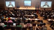 IPCC-Vollversammlung in Yokohama.