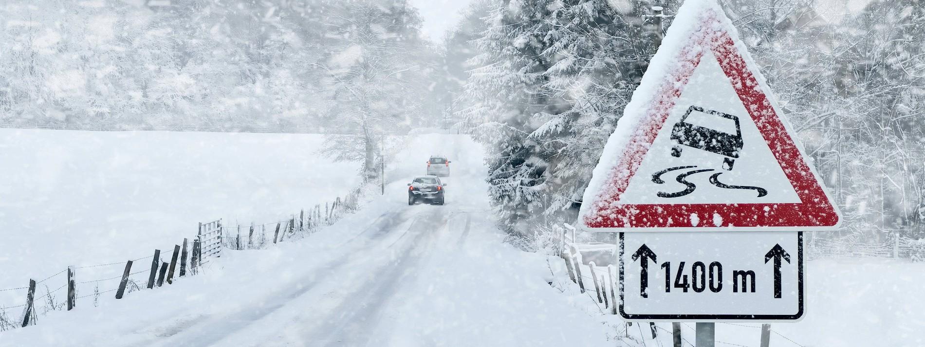 Starker Schneesturm im Norden erwartet