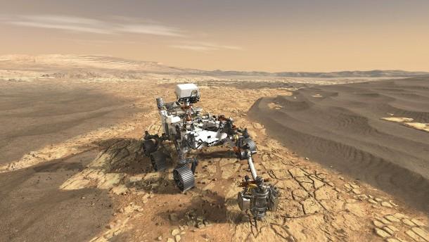 Sommerferien auf dem Mars