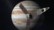 Raimsonde Juno nähert sich Jupiter