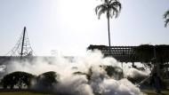 Auch in Panama-City werden die Stechmücken mit Insektiziden bekmämpft.