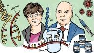 Katalin Karikó und Drew Weissman schufen mit ihrer Forschung wichtige Grundlagen für die heute erfolgreichen Covid-19-Impfstoffe.
