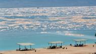 Das Tote Meer - Salzsee mit wechselvoller Geschichte