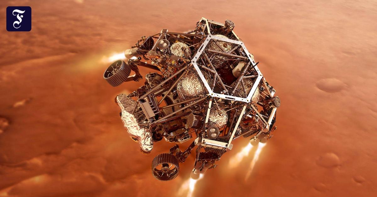 Wir sehen uns auf dem Roten Planeten - FAZ - Frankfurter Allgemeine Zeitung