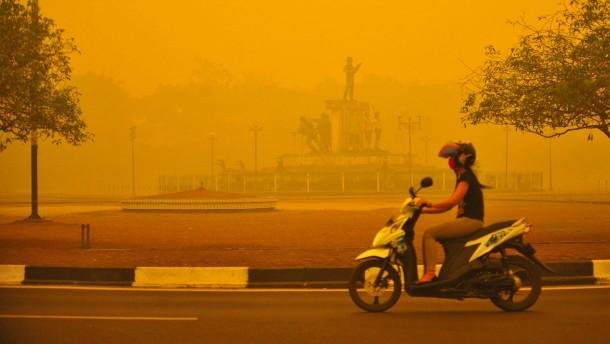 Dicke Luft in Südasien