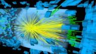 Neutstart des Large Hadron Colliders: Teilchencrash im Detektor CMS