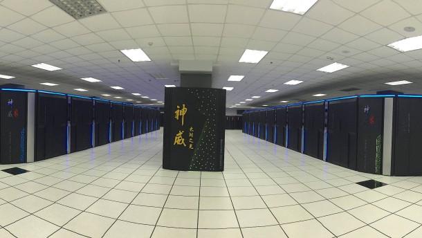 Der schnellste Rechner steht in China