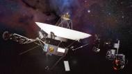 Voyager 1, eine Animation