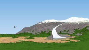 Grünland auf Grönland