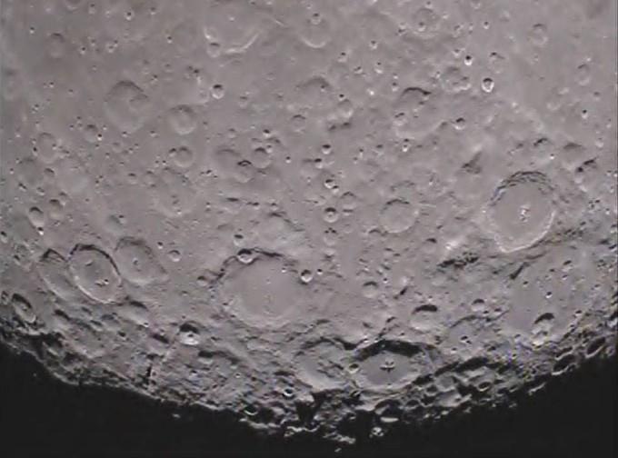 Die erdabgewandte Seite des Mondes