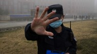 China schirmt das Wuhan-Institut für Virologie ab.