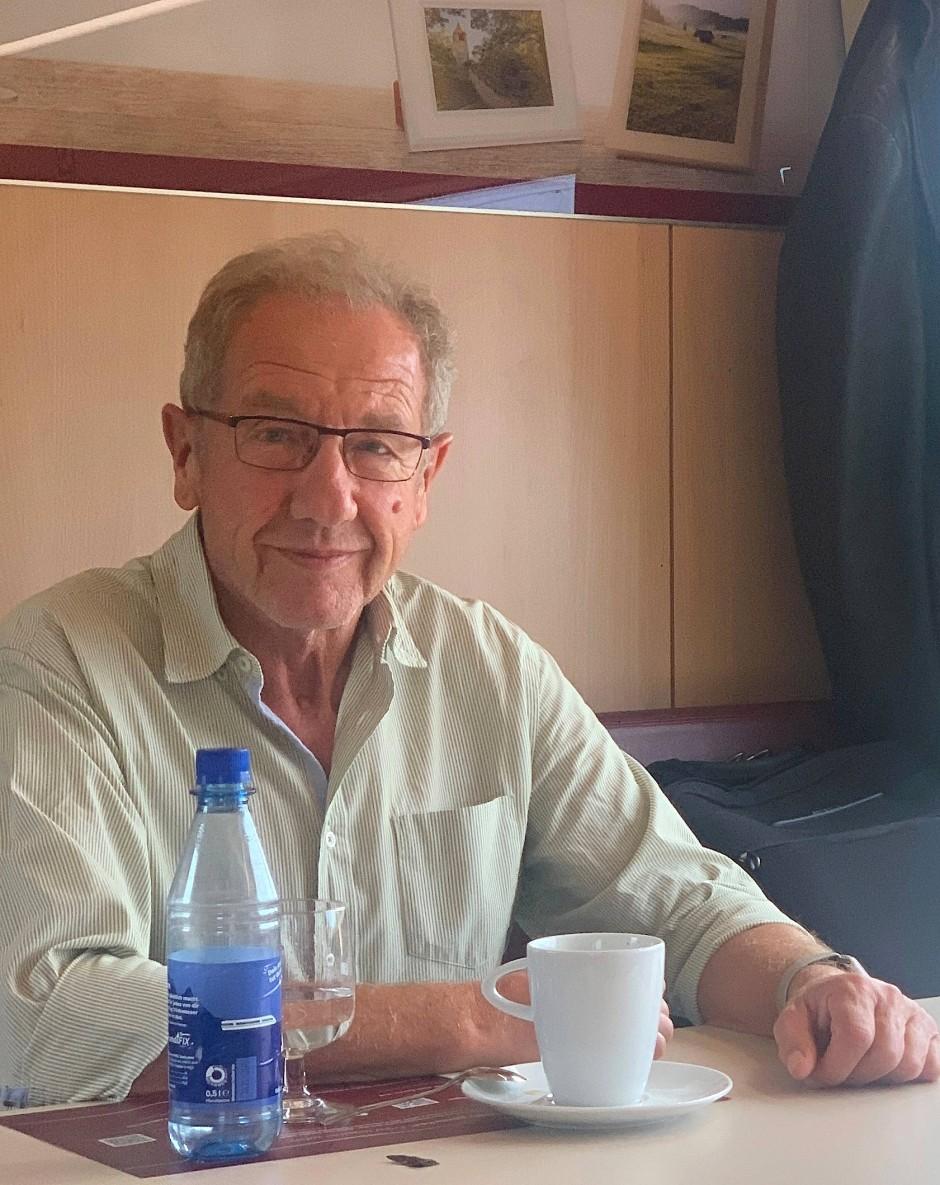 Karl Eugen Dorner, Dipl.-Mathematiker, Firmengründer und Geschäftsführer von DORNER GmbH