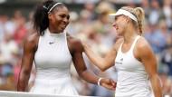 Freunde fürs Leben oder Ausnahmen von der Regel? Tennis-Primadonna Serena Williams und Angelique Kerber.
