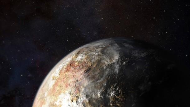In Siebenmeilenstiefeln zum Pluto