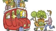 Darf ein Gärtner im Sommer überhaupt verreisen?