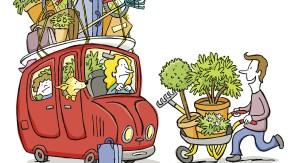Darf ein Gärtner überhaupt verreisen, gerade jetzt bei dieser Trockenheit?
