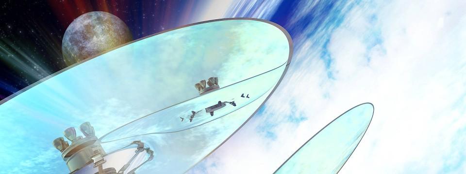 Spiegel im All: Der Phantasie sind keine Grenzen gesetzt, den Möglichkeiten schon.
