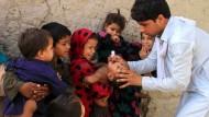 Impfung gegen Polio in Afghanistan