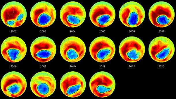 Rätselhafter Ozonschwund am Himmel