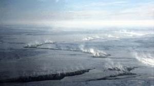 Arktischer Ozonabbau in sauren Lufttröpfchen