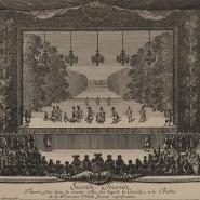 """Den Fürstenhof beschreibt Norbert Elias, so fasst ihn Pierre Bourdieu zusammen, als ein Feld, auf dem die Akteure """"durch unüberwindliche Kräfte in eine fortwährende, notwendige Bewegung gezogen werden, um den Rang, den Abstand, die Kluft gegenüber den anderen aufrechtzuerhalten"""". Den regelgerechten Ablauf dieses Perpetuum mobile der Distanzierung führte man sich im Theater vor Augen, wie 1664 in Versailles bei der Uraufführung von Molières Komödie """"La Princesse d'Élide""""."""