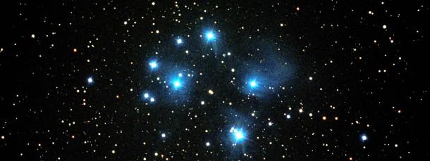 Der Sternhaufen der Plejaden