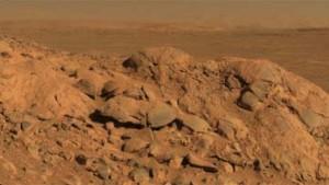 Entdeckungen im Grusev-Krater