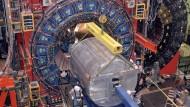 Längst stillgelegt: CDF-Detektor am Tevatron-Beschleuniger